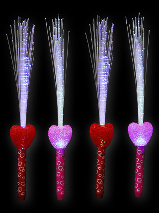 LED Magic Stick Shiny Folk Heart