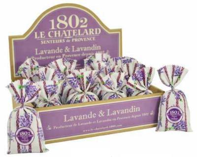 Display Geurzakjes Lavendel
