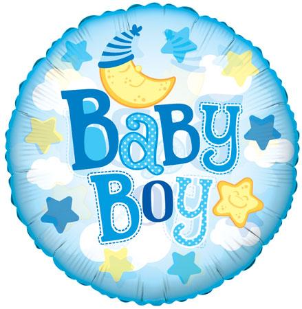 Baby boy Moon Clear vieuw