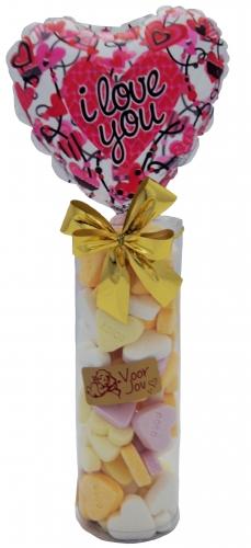 Balloon & Candy koker I love you