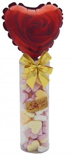 Balloon & candy koker Roos