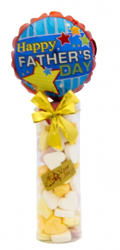 Balloon & candy koker happy father\'s day