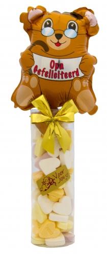 Balloon & Candy koker opa gefeliciteerd