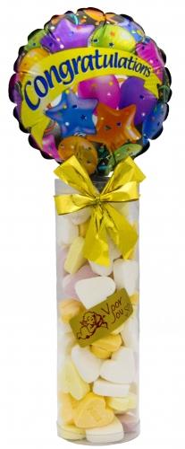 Balloon & Candy koker congratulations stars