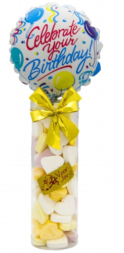 Balloon & candy koker celebrate your birthday