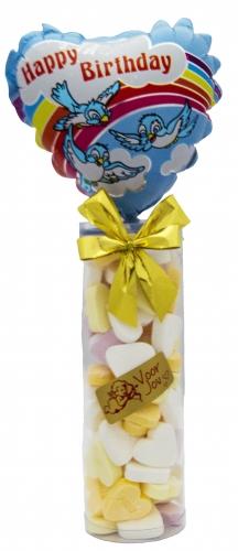 Balloon & candy koker  birthday birds