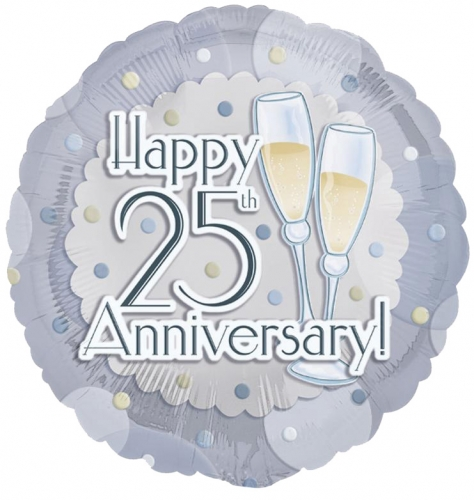 25th anniversary toast