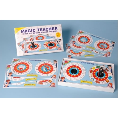 Magic teacher spel