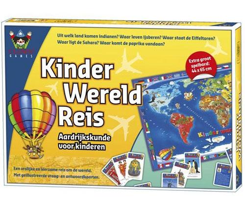 Kinder wereldreis spel