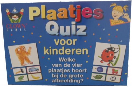 Plaatjes Quiz voor kinderen