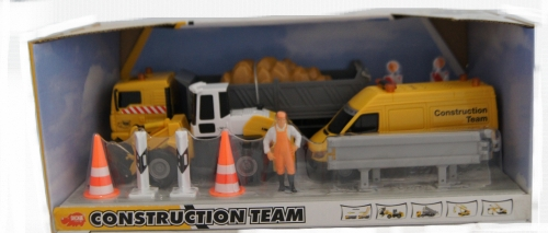 Constructievoertuigen set