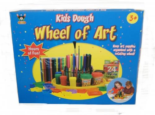 Draaiend kunst atelier