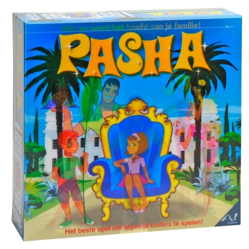 Pasha Familiespel