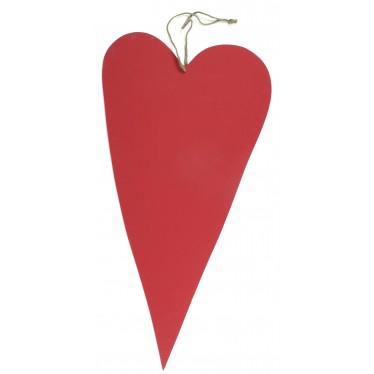 Rood houten hart groot