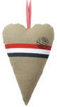 Stuffed heart NL 35cm.