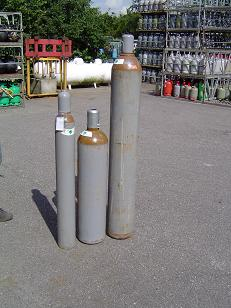 Helium fles 10 liter