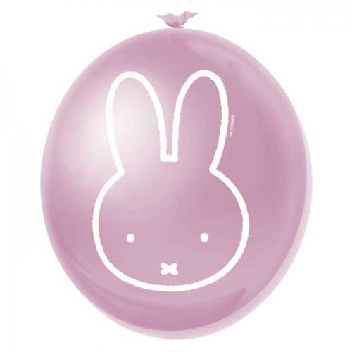Latex Ballonnen Nijntje roze