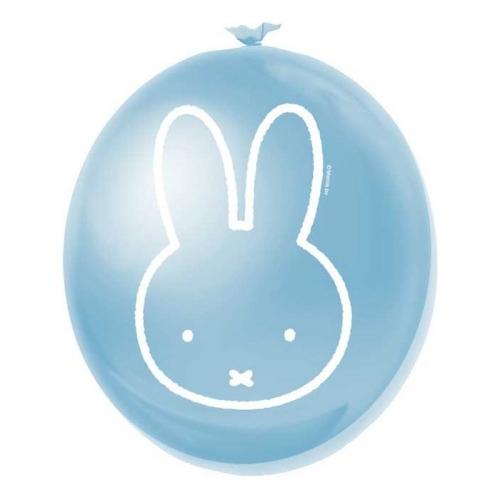 Latex Ballonnen Nijntje blauw