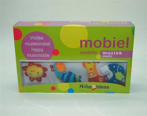 Mobiel met muziek en 4 hangers