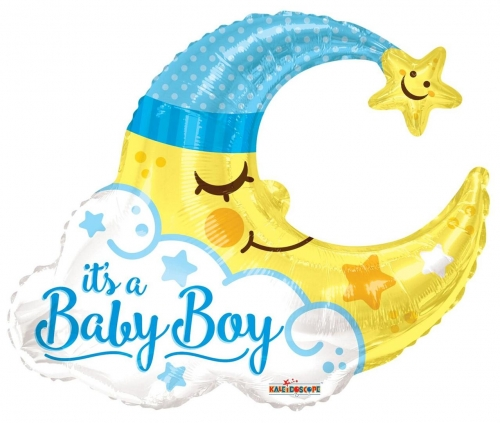 Baby Boy Moon Shape JU