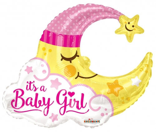 Baby Girl Moon Shape JU