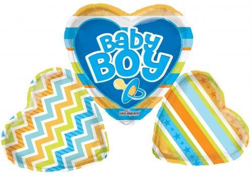 Baby Boy Big Letters Shape
