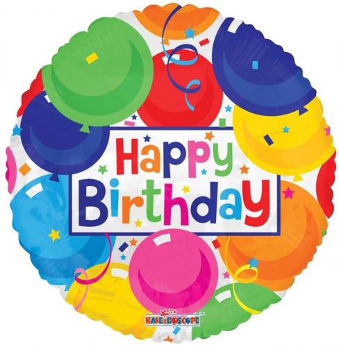 Birthday Colorful Balloons