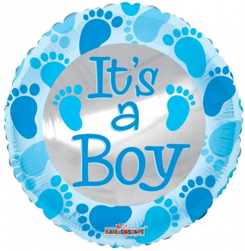 Baby Boy Blue Foot Prints SL