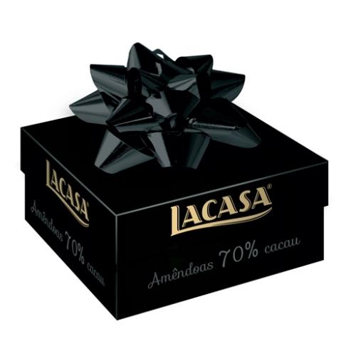 Lacasa Chocolade Amandelen 70% Cacao