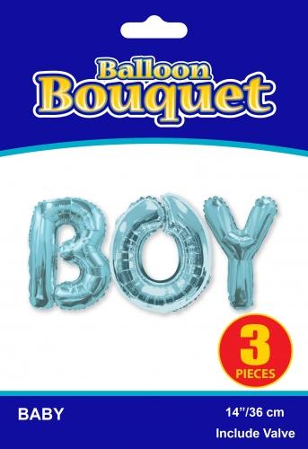 Bouquet Boy Blue