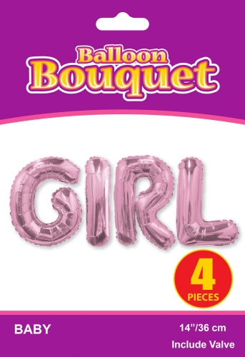 Bouquet Girl Pink ML