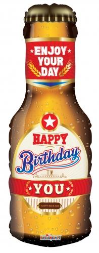 Happy Birthday Bierfles