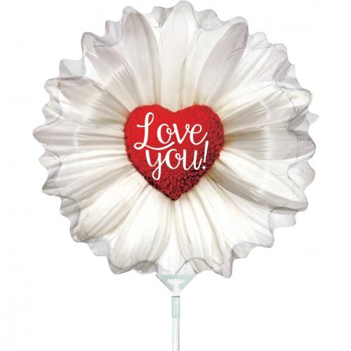 I love you daisy heart