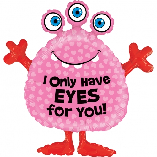 Monster eyes for you