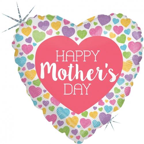 Mothersday Pastel Hearts