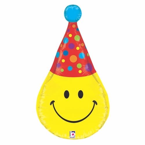 3D Smiley Party Hat