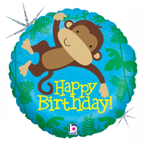 Monkey Buddy Birthday ML