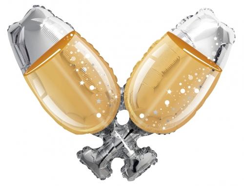 Champagne Glazen SH