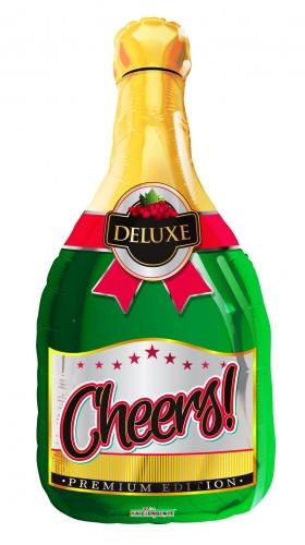 Champagne fles cheers JU