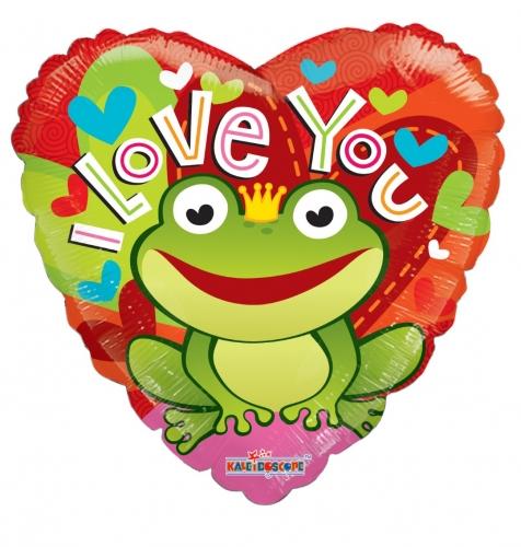 I love you frog JU
