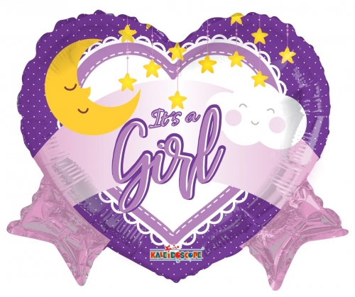 It s a girl hearts and stars SL