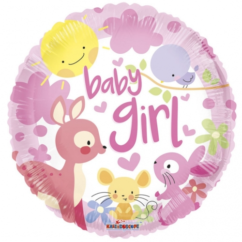 Baby Girl many animals SL