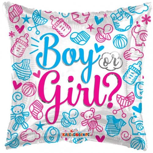 Gender ballon Boy or Girl SL