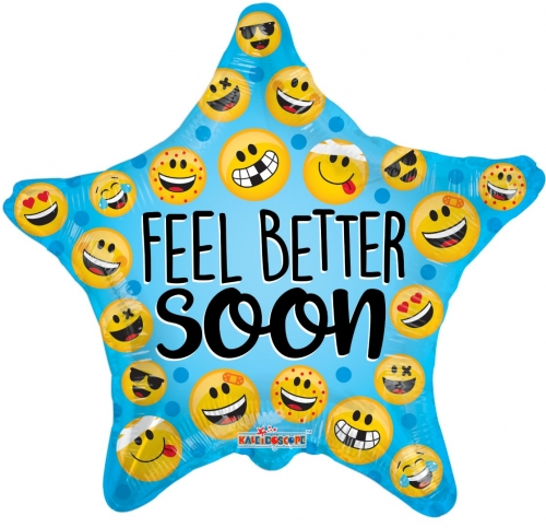 Feel better soon many smilies star SL