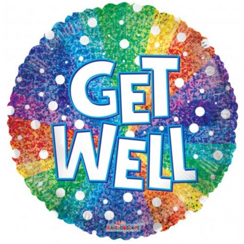 Get Well Rainbow Holographic SL