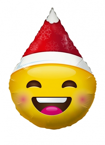 Smiley with christmas hat  ML