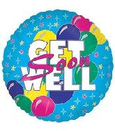 Get well soon bold balloons MC