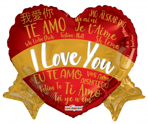 I love you languages banner ML