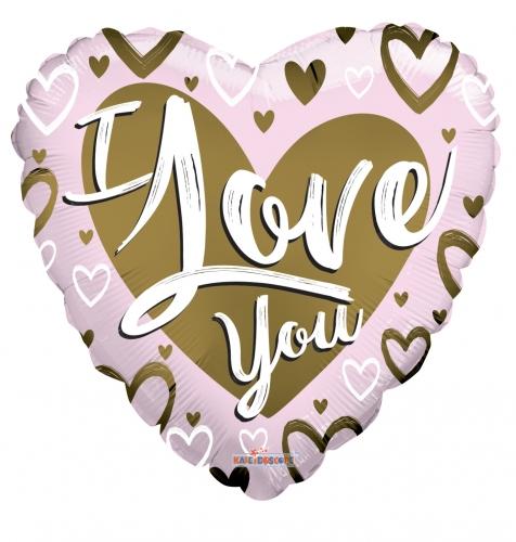 I love you pink & matte JU