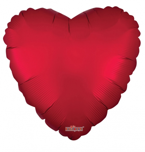 Heart chrome rood ML